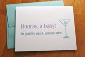 Image of Hooray A Baby That Isn't Mine Card
