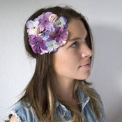 Image of Country Garden Fascinator - Lilac