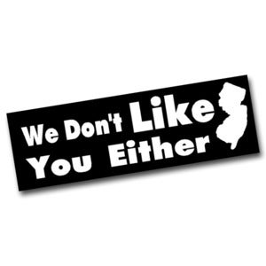 Image of We Don't Either Sticker