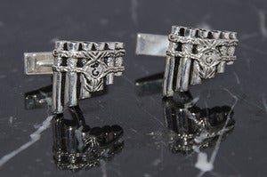 Image of Eolian Talent Pipes Cufflinks