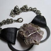 Image of Amethyst Lita Rock Necklace