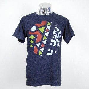 Image of GEOMETRIC AFRICAN PRINT TEE