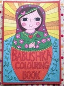 Image of Babushka Colouring Book