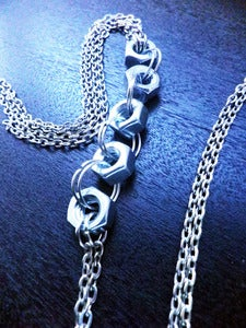 Image of Silver Hexagon Body Chain