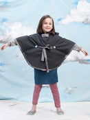Image of Heart Berry Cape - Grey