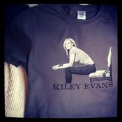 Image of KILEY EVANS Grey Tee