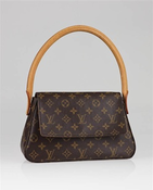 Image of Louis Vuitton Mini looping bag Monogram