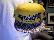 Image of Custom Pittsburgh Pirates Cheetah Print Snapback