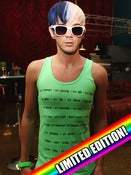 Image of Neon Green i am me Tank