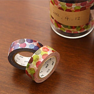 Image of mTape Spot Dot Washi Tape