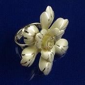Large Gold Flower Ring_1097