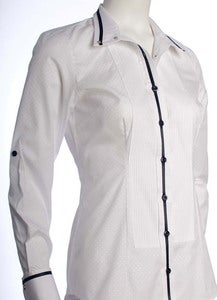 Image of Tux Shirt - Black Ribbon