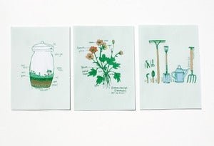 Image of Green Thumb Print Set
