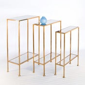Image of Porter Gold Leaf Shelf