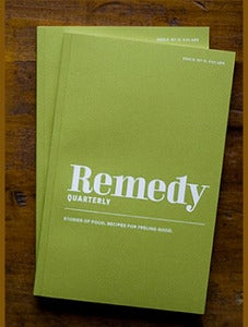 Image of Remedy Quarterly No. 9: Escape