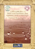 Image of Hibs v Hearts 19/5/2012 Scottish Cup Final Programme