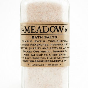 Image of Meadow Bottle Bath Salts 10oz Jar