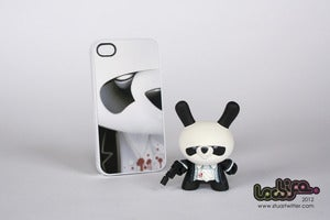 "Image of 'Goodnight Panda' 3"" Custom Dunny"
