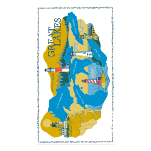 Image of Great Lakes Region Towels