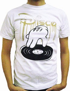 Image of DISCO : WHITE T-SHIRT