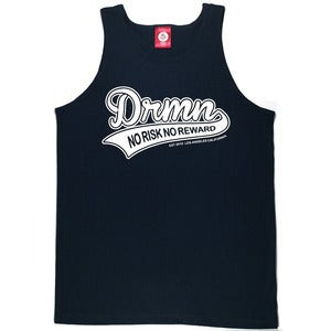 "Image of ""Risk"" Tank Top - Navy"