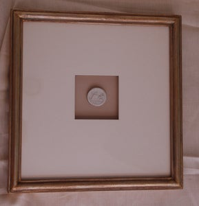 Image of Custom framed intaglios, square size