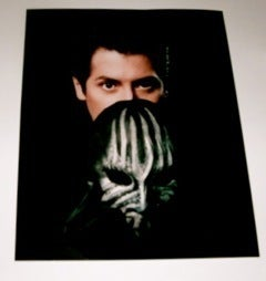 Image of Signed 8x10 Masked Magician Color Photo