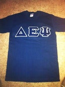 Image of DEPsi Lettered Shirt - Navy