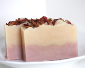 Image of Wild Irish Rose Natural Goat's Milk Soap With Shea Butter