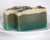 Image of Mint and Nettle Natural Goat's Milk Soap With Shea Butter
