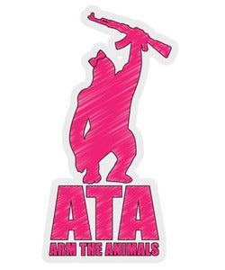 Image of Accessory | ATA Scribble Logo | Sticker