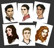 "Image of Teen Wolf 5x7"" Matte Prints"