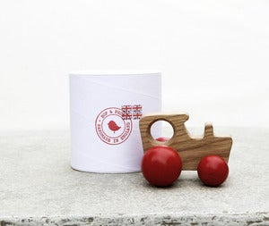 Image of Oak Tractor - Red