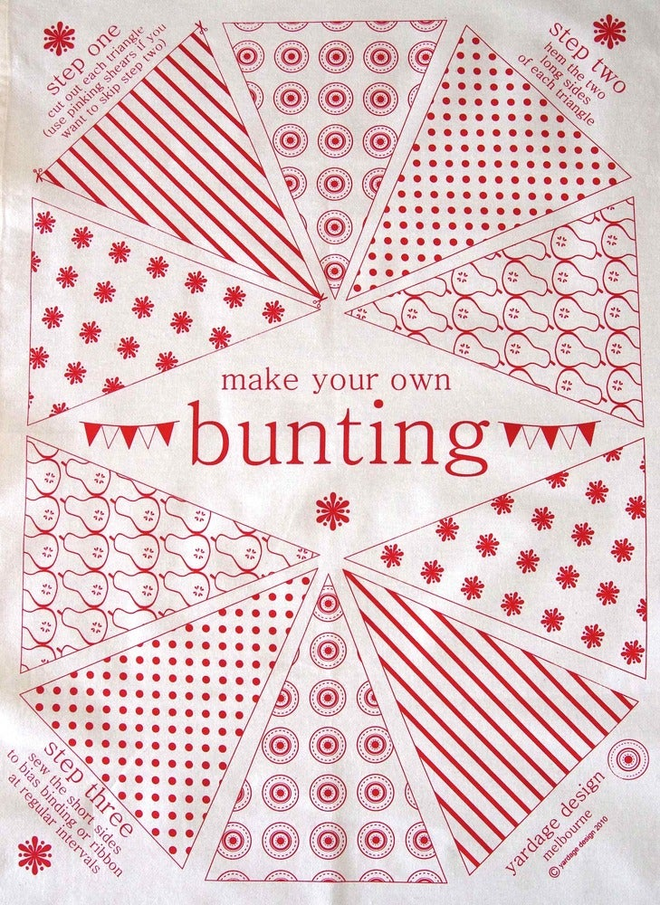 Image of Make Your Own Bunting Craft Panels