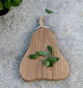 Image of Pear Serving Board