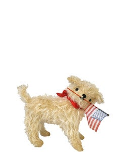 Image of TRUMAN the PATRIOTIC DOG