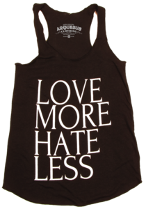 Image of LOVE MORE HATE LESS - TANK TOP