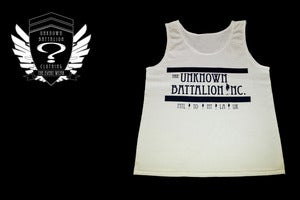 Image of &quot;The EveryWear&quot; Tank (White &amp; Navy Blue) Sold Out