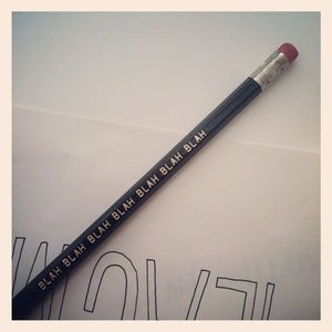 Image of BLAH BLAH BLAH Pencil