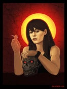 "Image of Sarah Connor - Limited Edition 18""x24"""