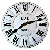 Image of Lillie Tin Wall Clock