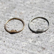 Image of Half Moon Pinky Ring