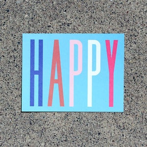 Image of Happy Notecard Pack