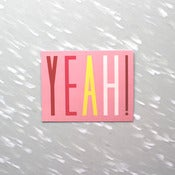 Image of Yeah! Notecard Pack