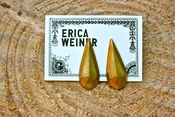 Image of Erica Weiner Vintage Faceted Teardrop Earring