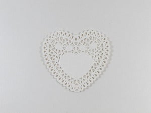 Image of  Mini Heart Doilies