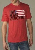 Image of New! Red Flag/Time tee and tank