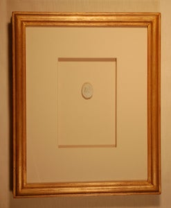 "Image of Framed intaglios - ""Taylor"" design"