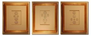 Image of Framed intaglios, set of three