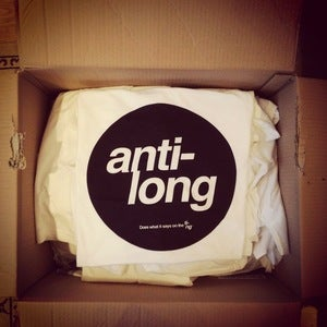 "Image of Anti-Long Version III - ""Does What It Says On The Ting"" T-Shirt"
